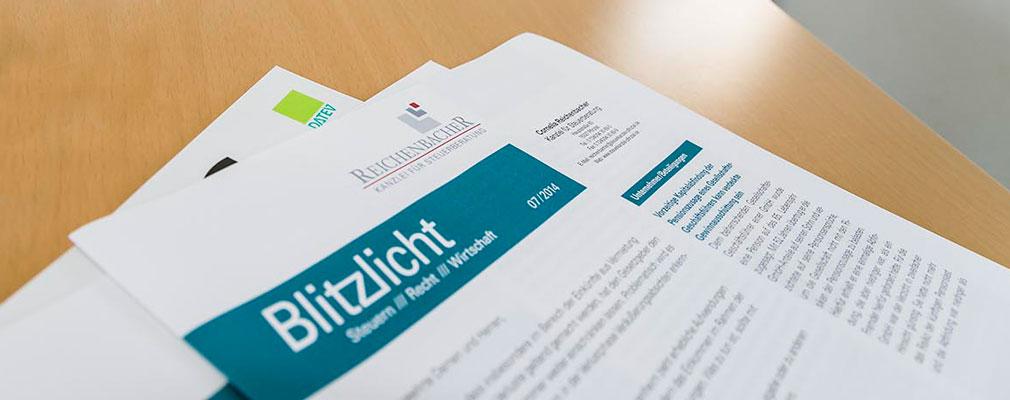 Steuerkanzlei Cornelia Reichenbacher in Pfinztal • Blitzlicht Magazin